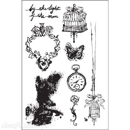 Tampon caoutchouc Prima cling stamps Epiphany 10x15cm