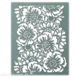Dies Sizzix de découpe Tim Holtz Thinlits set bouquet