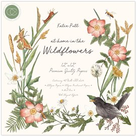 Papier scrapbooking assortiment at home in the wildflowers 40fe 30x30