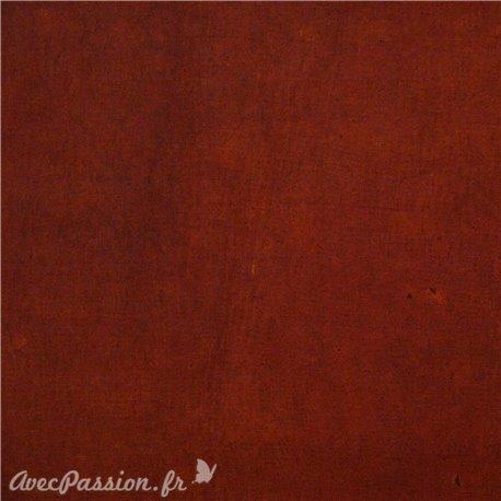 Papier fantaisie cotton roux