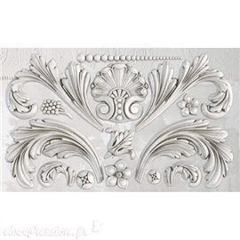 Moule décoratif IOD Iron Orchid Designs en silicone ACANTHUS SCROLL