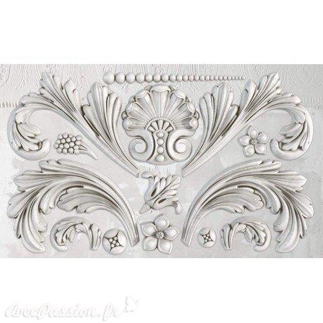 Moule décoratif IOD Iron Orchid Designs en silicone ACANTHUS SCROLL