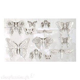 Moule décoratif IOD Iron Orchid Designs en silicone Monarch