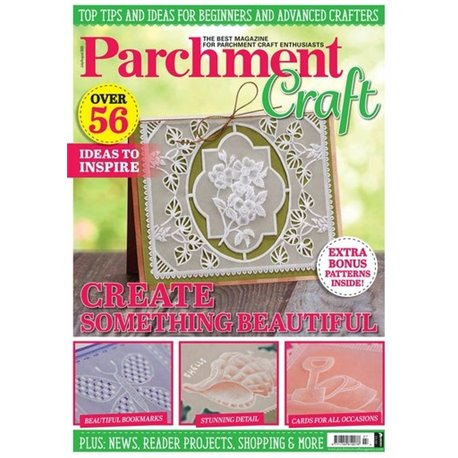Parchment Craft magazine Pergamano juillet/aout 2020 Create something beautiful
