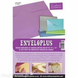 Gabarit de pliage et de coupe the envelopper plus Crafters Companion