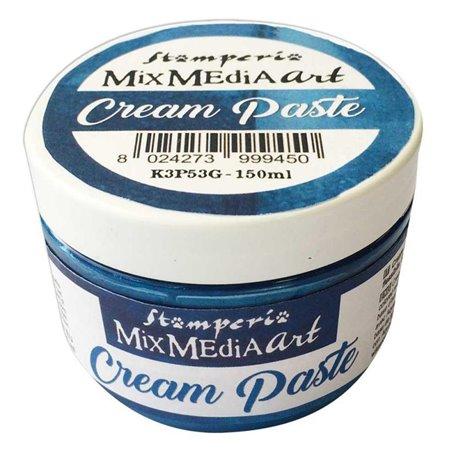 Pâte pour moule souple bleu Stamperia Cream Paste