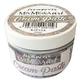 Pâte pour moule souple argent Stamperia Cream Paste