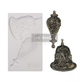 Moule ReDesign en silicone flexible Silver Bells