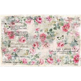 Papier de murier mulberry imprimé Redesign 48x76cm Floral Wallpaper