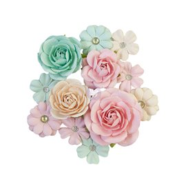 Fleurs Prima Marketing Sugar Cookie Christmas Flowers Pink Jolly