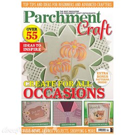 Parchment Craft magazine Pergamano sept/oct 2020 Create something beautiful