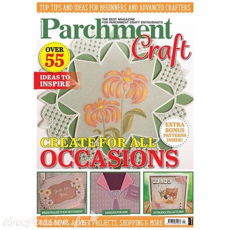 Parchment Craft magazine Pergamano sept/oct 2020 Create something beautiful