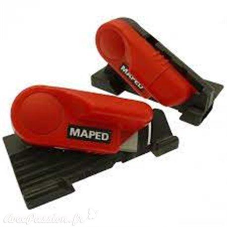 Outils de coupe à 45 et 90 pour règle Maped