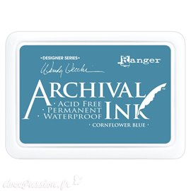 Tampon encreur Archival Ink Ranger cornflower blue