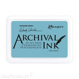 Tampon encreur Archival Ink Ranger sky blue