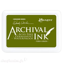 Tampon encreur Archival Ink Ranger fern green