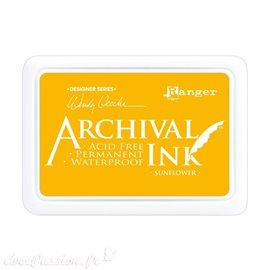 Tampon encreur Archival Ink Ranger Sunflower