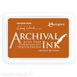 Tampon encreur Archival Ink Ranger Orange blossom