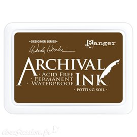 Tampon encreur Archival Ink Ranger Potting soil