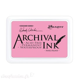 Tampon encreur Archival Ink Ranger Pink peony