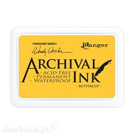 Tampon encreur Archival Ink Ranger Buttercup