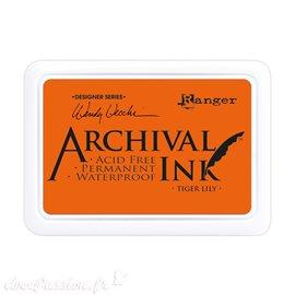 Tampon encreur Archival Ink Ranger Tiger lily