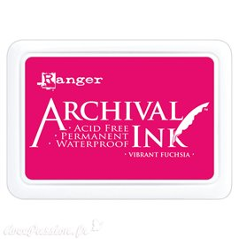 Tampon encreur Archival Ink Ranger Vibrant fuchsia