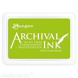 Tampon encreur Archival Ink Ranger Vivid chartreuse