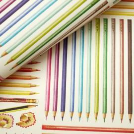 Papier tassotti motifs crayon