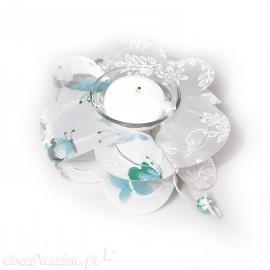 Feuilles créapop Hobbyfun gabarit photophore fleur double