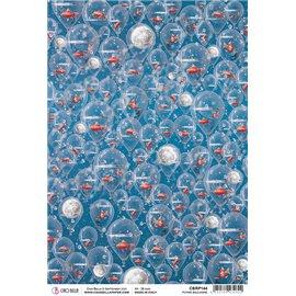 Papier de riz Ciao Bella 22x32cm Flying Balloons
