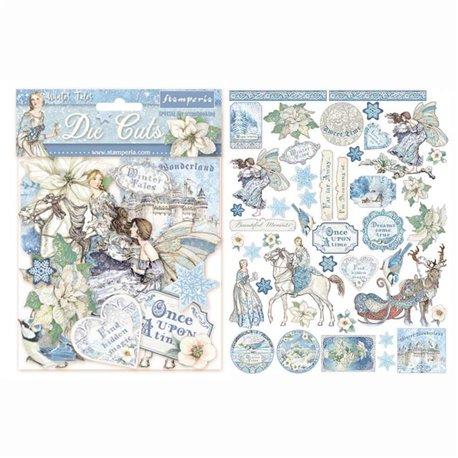 Die Cuts en carton Winter Tales