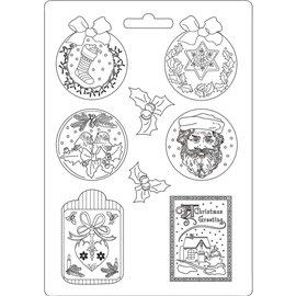 Moule décoratif thermoformé Stamperia hortensia stampo