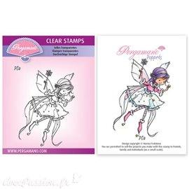 Tampon Pergamano Marina Fedotova clear stamps Pia