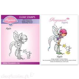 Tampon Pergamano Marina Fedotova clear stamps Pippin