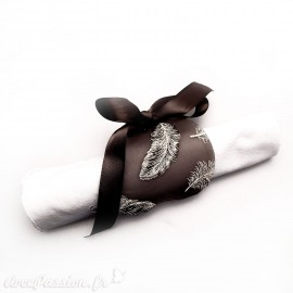 Feuilles créapop Hobbyfun gabarit porte serviette coeur
