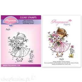 Tampon Pergamano Marina Fedotova clear stamps Posie