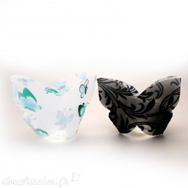 Feuilles créapop Hobbyfun gabarit photophore bougeoir papillon