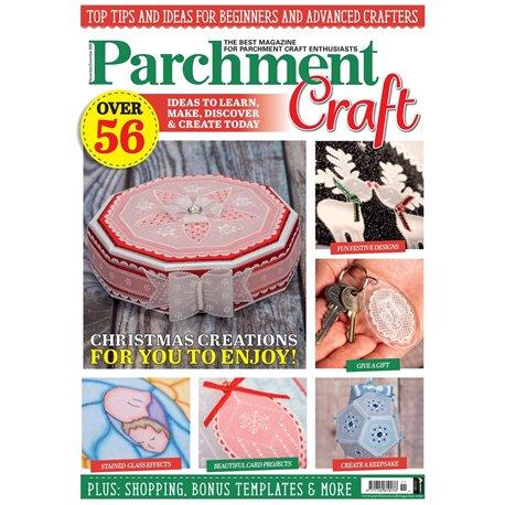 Parchment Craft magazine Pergamano novembre/décembre 2020 Christmas Creations