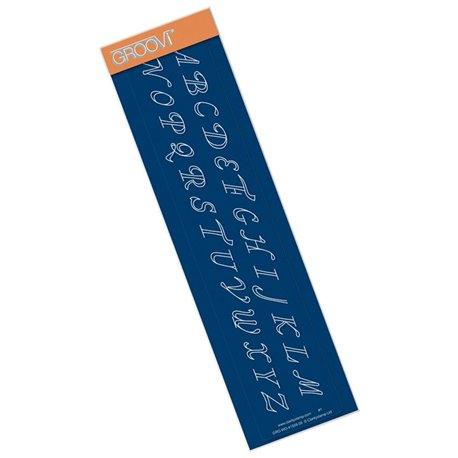 Règle de piquage droite bordures n°1 du parchemin Groovi