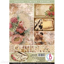 Papier scrapbooking A4 assortiment Ciao Bella the muse 9fe