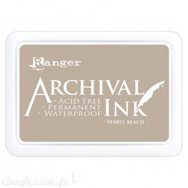 Tampon encreur Archival Ink Ranger Pebble Beach