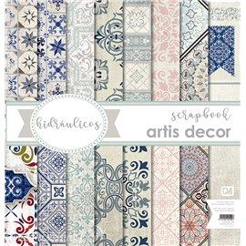 Papier scrapbooking assortiment Artis Décor X 8fe 30x30