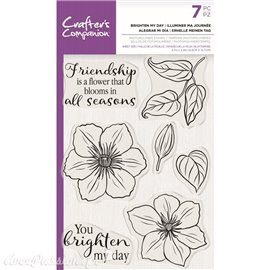 Tampon clear stamps Crafter's Companion Brighten My Day