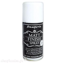 Vernis Spray Finish mat opaque Stamperia