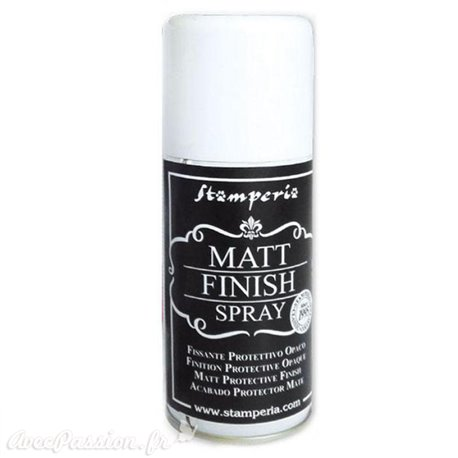 Vernis Spray Finish mat opaque Stamperia