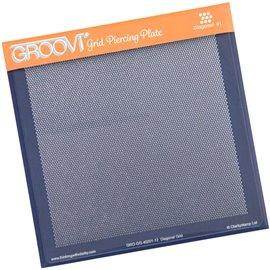 Groovi gabarit piquage type grille parchemin droit
