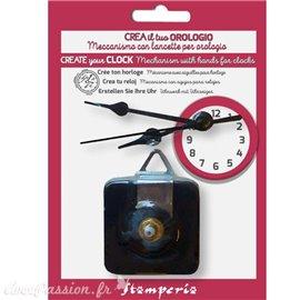 Mécanisme d'horloge avec aiguille 6X8X9cm