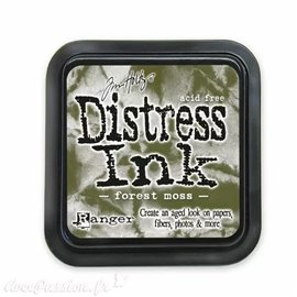 Encre distress Ranger Tim Holtz Forest moss