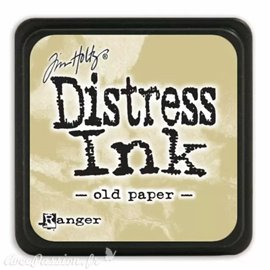 Encre distress mini Ranger Tim Holtz Old Paper